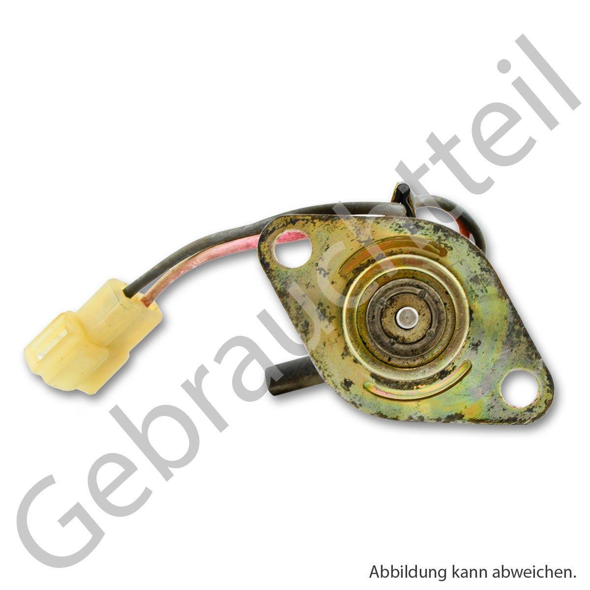 Magnetschalter Schnellstopdüse zur Einspritzpumpe passend für Iseki Motoren  E380, E390, E3100, E3112, E3CC, E3CD und E3CE ( Gebrauchtes Originalteil )