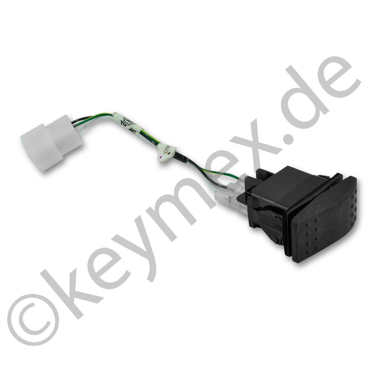 Schalter zu elektrischer Entleerung passend für Iseki SXG216